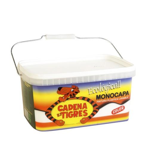 Tigre 1 capa Blanca - Pintura plástica monocapa mate 5kg
