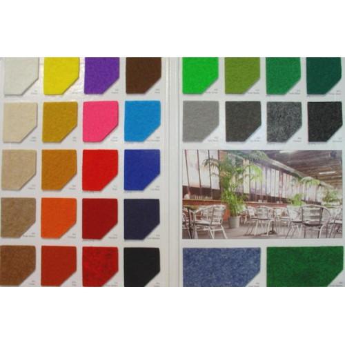 Moqueta ferial en varios colores. Suministro por m2. Ancho 2m.