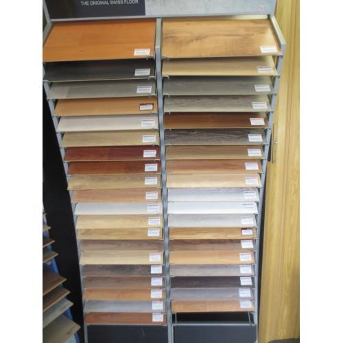Suelos Laminados AC5 en variedad de colores. Se suministra por cajas de 2,131m2. Precio por caja